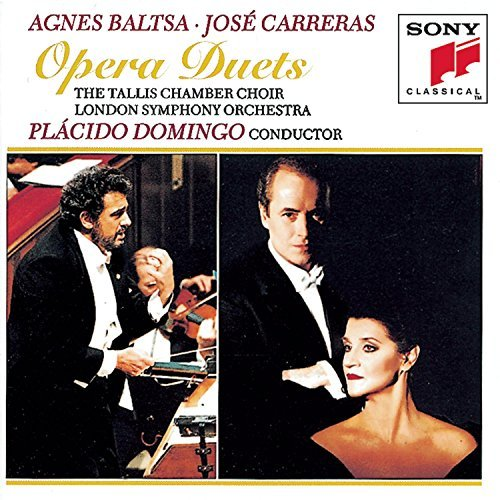 Baltsa Carreras Opera Duets Baltsa (mez) Carreras (ten) Domingo London So