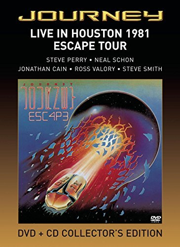 Journey Live In Houston 1981 Escape T Incl. CD