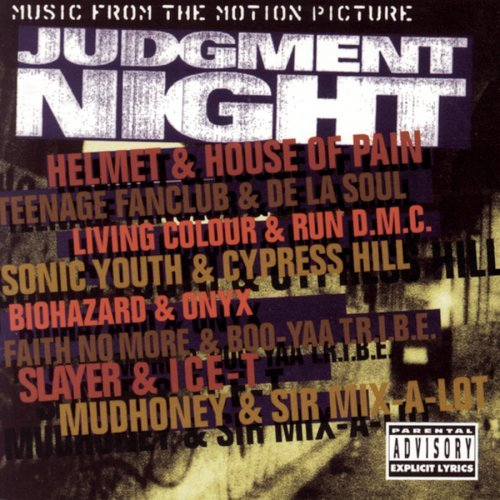 Judgment Night Soundtrack Explicit Version Helmet Ice T Slayer Biohazard