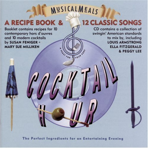 Musical Meals Musical Meals Cocktail Hour Lee Armstrong Torme Fitzgerald Incl. Recipe Booklet
