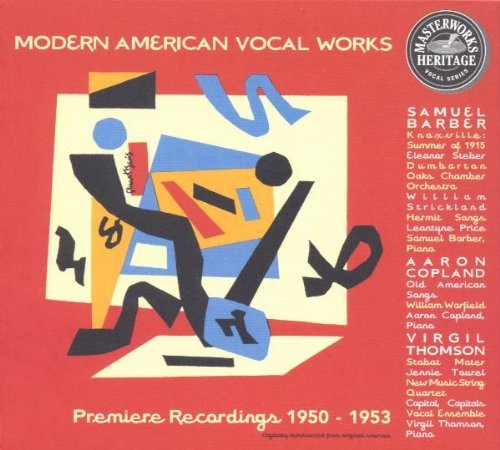 Barber Copeland Thomson Moderen American Vocal Works Staber Price Barber Copland & Various
