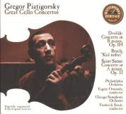 Gregor Piatigorsky Great Cello Concertos