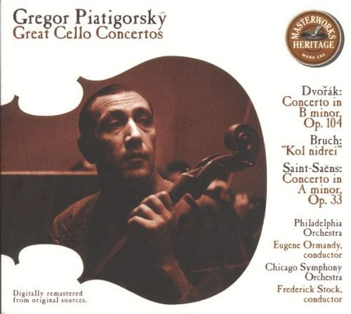 Piatigorsky Gregor Great Cello Concertos