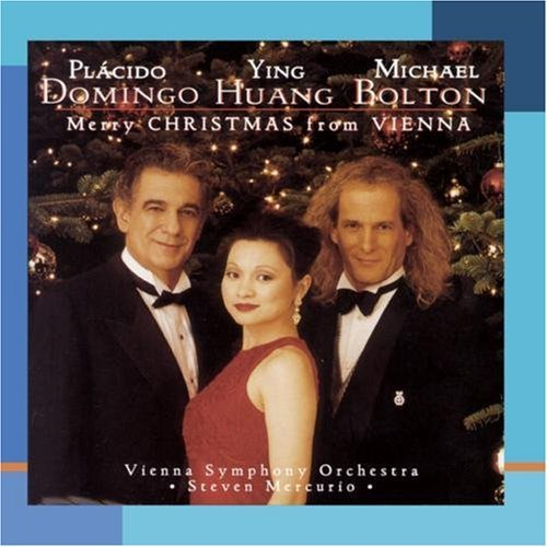 Domingo Huang Bolton Merry Christmas From Vienna CD R Mercurio Vienna Sym Orch