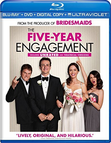 Five Year Engagement Segel Blunt Blu Ray Ws R Incl. DVD Dc