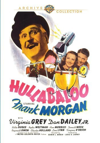 Hullabaloo (1940) Morgan Grey Dailey DVD R Nr