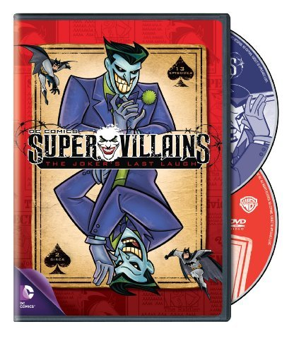 Super Villians Jokers Last Laugh DVD Nr