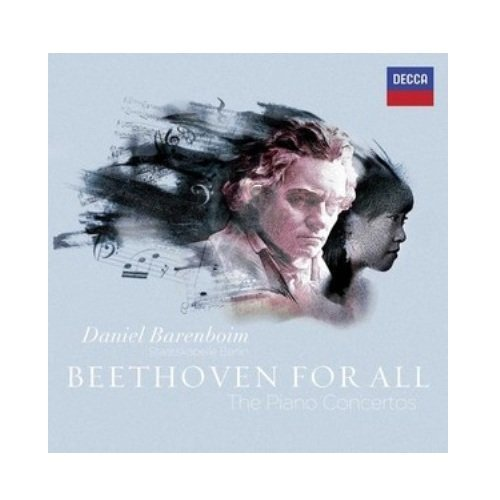 Daniel Barenboim Beethoven For All Piano Conce 3 CD