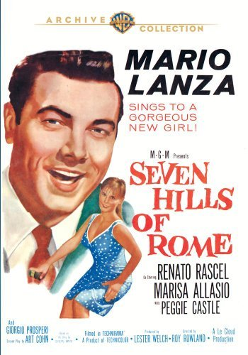 Seven Hills Of Rome (1958) Lanza Rascel Castle DVD Mod This Item Is Made On Demand Could Take 2 3 Weeks For Delivery
