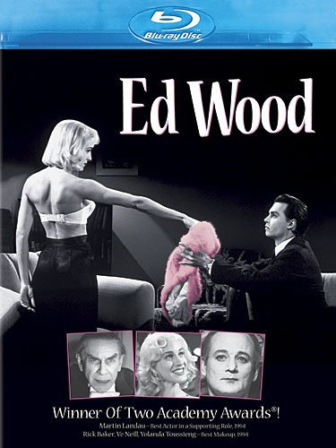 Ed Wood Depp Murray Parker Landau Blu Ray Ws R