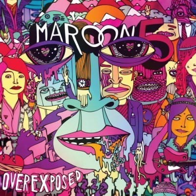 Maroon 5 Overexposed Explicit Version Deluxe Ed.