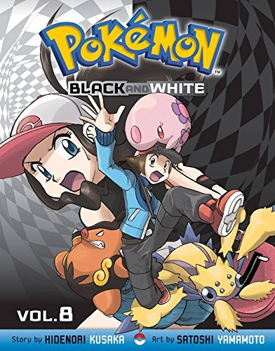 Hidenori Kusaka Pokemon Black And White Volume 8