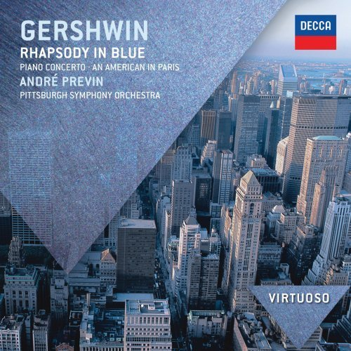 G. Gershwin Rhapsody In Blue Piano Concert Virtuoso Previn Pittsburgh Symphony Orc