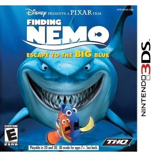 Nintendo 3ds Finding Nemo Escape To The Bi Disney Interactive Distri E