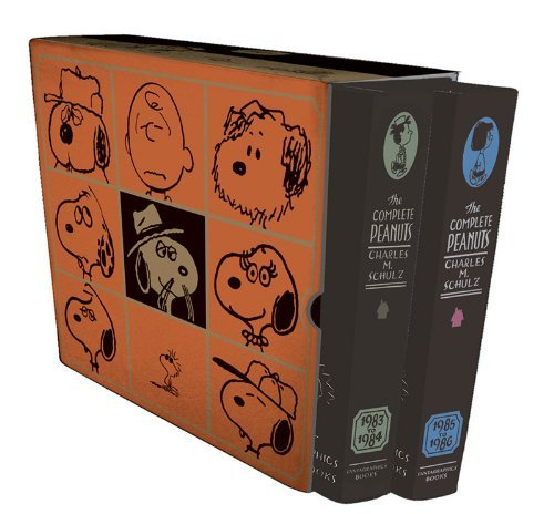 Charles M. Schulz The Complete Peanuts Box Set Vols. 17 & 18 (1983 1