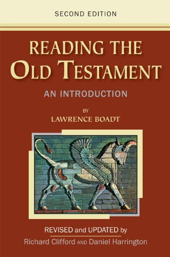 Lawrence Boadt Reading The Old Testament An Introduction 0002 Edition;