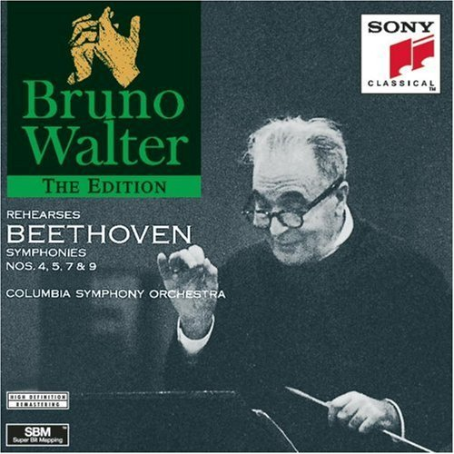 L.V. Beethoven Sym 4 5 7 9 (rehearsals) Walter Columbia So