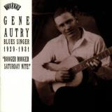 Gene Autry Blues Singer 1929 1931 Booger