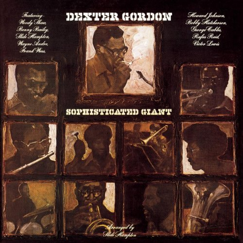 Dexter Gordon Sophisticated Giant Feat. Shaw Wess Hutcherson Hampton Cables Lewis Johnson