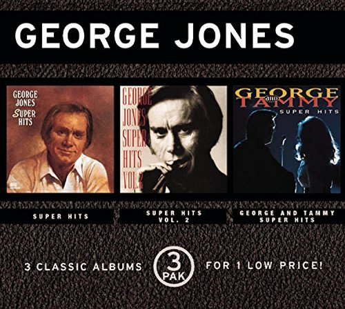 George Jones Vol. 2 3 Super Hits 3 CD Set Super Hits
