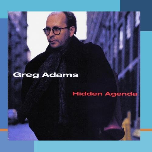 Greg Adams/Hidden Agenda@This Item Is Made On Demand@Could Take 2-3 Weeks For Delivery