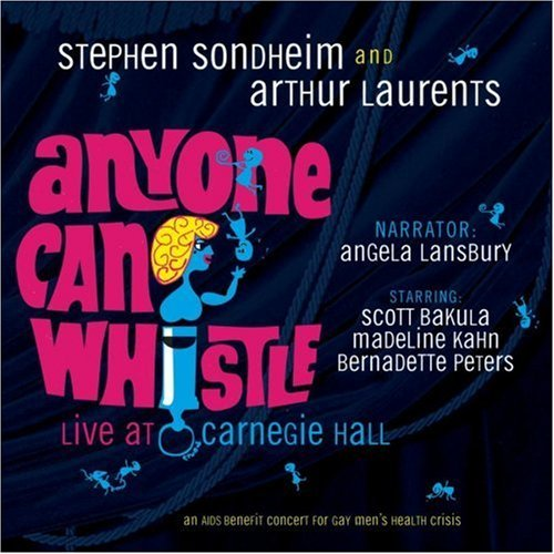 Anyone Can Whistle Live At Carnegie Hall Music By Stephen Sondheim