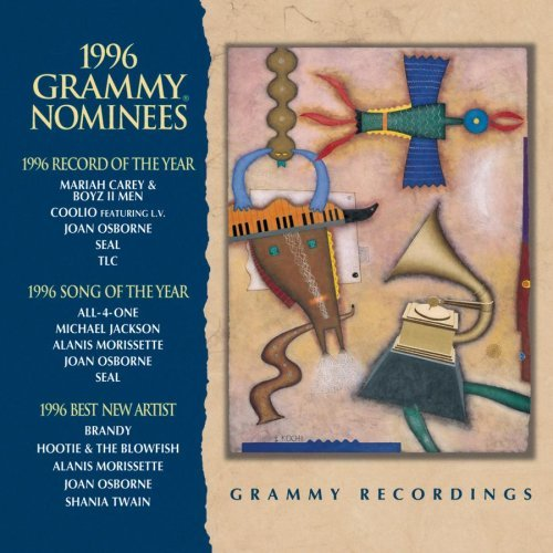 Grammy Nominees 1996 Grammy Nominees Carey Boyz Ii Men Coolio Tlc Osborne Hootie & The Blowfish