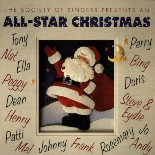 Society Of Singers All Star Christmas Bennett Clooney Cole Como Page Crosby Sinatra Mathis Torme