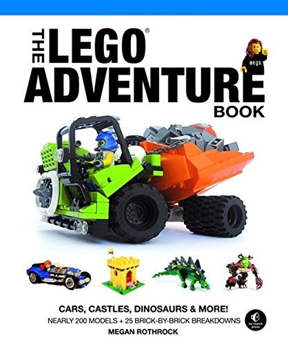 Megan H. Rothrock The Lego Adventure Book Vol. 1 Cars Castles Dinosaurs & More!
