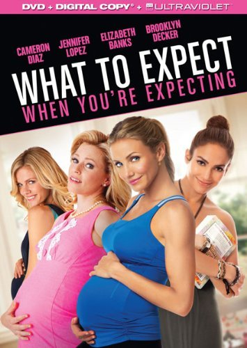 What To Expect When You're Expecting Diaz Lopez Banks DVD Dc Pg13 Ws