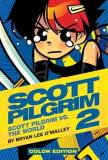 Bryan Lee O'malley Scott Pilgrim Color Hardcover Volume 2 Vs. The World