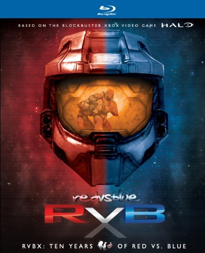 Red Vs. Blue Rvbx Ten Years Of Red Vs. Blu Blu Ray Nr 14 Br