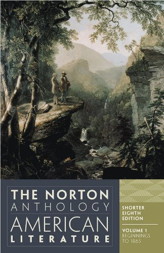 Nina Baym The Norton Anthology Of American Literature 0008 Edition;shorter Eighth