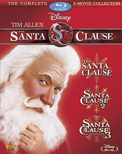 Santa Clause Movie Collection Blu Ray Pg