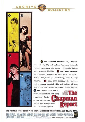 Chapman Report (1962) Zimbalist Winters Fonda DVD Mod This Item Is Made On Demand Could Take 2 3 Weeks For Delivery