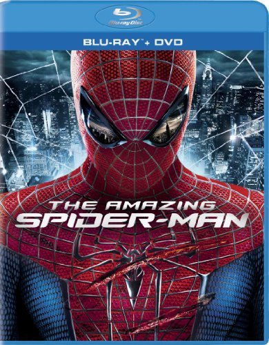 Amazing Spider Man (2012) Garfield Sheen Stone Blu Ray DVD Uv Pg13 Ws