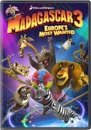 Madagascar 3 Europe's Most Wanted Madagascar 3 Europe's Most Wanted DVD Pg Ws