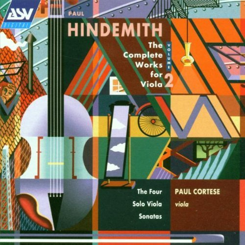 P. Hindemith Viola Works Vol. 2 Cortese*paul (va)