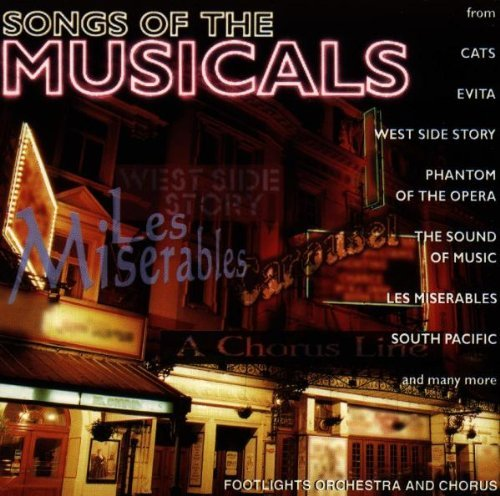 Footlights Orchestra Songs Of The Musicals Import Aus CD Album