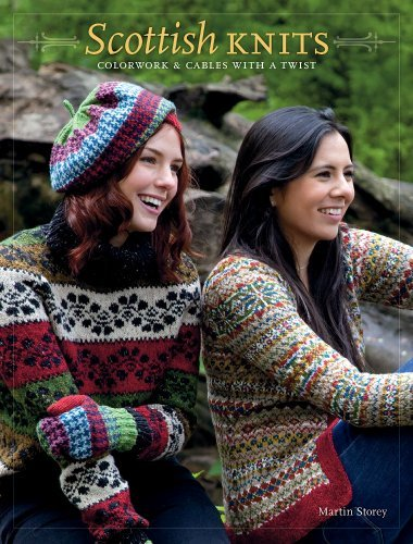 Martin Storey Scottish Knits Colorwork And Cables With A Twist