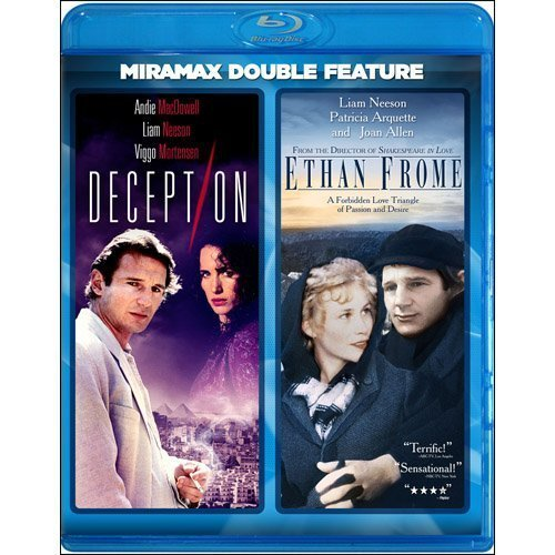 Deception Ethan Frome Macdowell Neeson Mortensen Blu Ray Ws Pg13