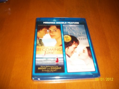 Becoming Jane Jane Eyre Hathaway Mcavoy Walters Cromwe Blu Ray Ws Pg