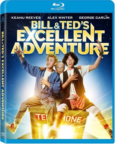Bill & Ted's Excellent Adventure Reeves Winter Blu Ray Pg
