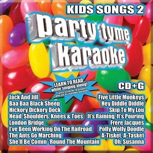 Party Tyme Karaoke Vol. 2 Kids Songs Incl. Cdg