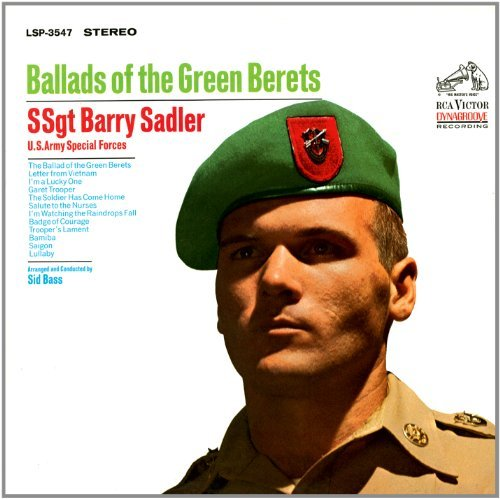 Ssgt. Barry Sadler Ballads Of The Green Berets