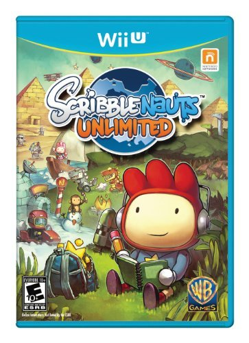 Wii U Scribblenauts Unlimited Whv Games E10+