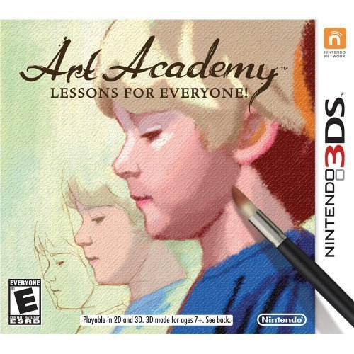 Nintendo 3ds Art Academy Lessons For Everyone