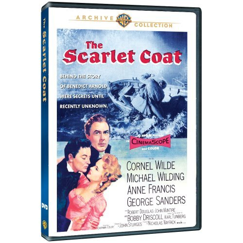 Scarlet Coat Wilde Wilding Francis DVD Mod This Item Is Made On Demand Could Take 2 3 Weeks For Delivery