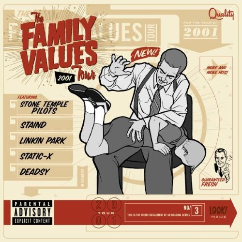 Family Values Tour Family Values Tour 2001 Explicit Version Staind Linkin Park Deadsy