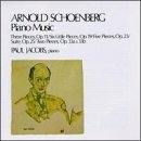 A. Schoenberg Piano Music Jacobs*paul (pno)